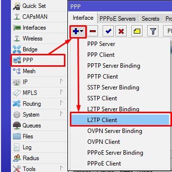 Setting up mikrotik as l2tp vpn server with ipsec